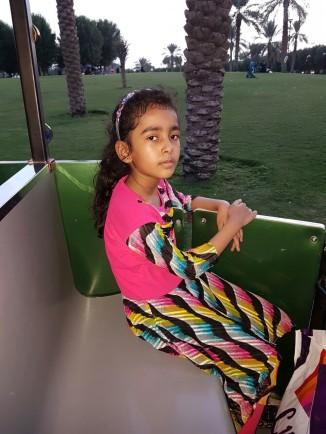 afifah iqbal in park